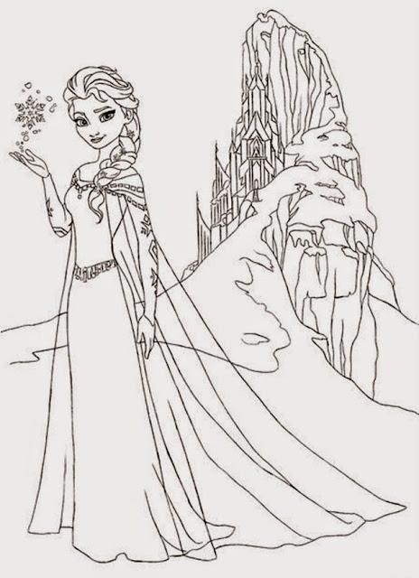 Frozen castle coloring pages coloring.filminspector.com