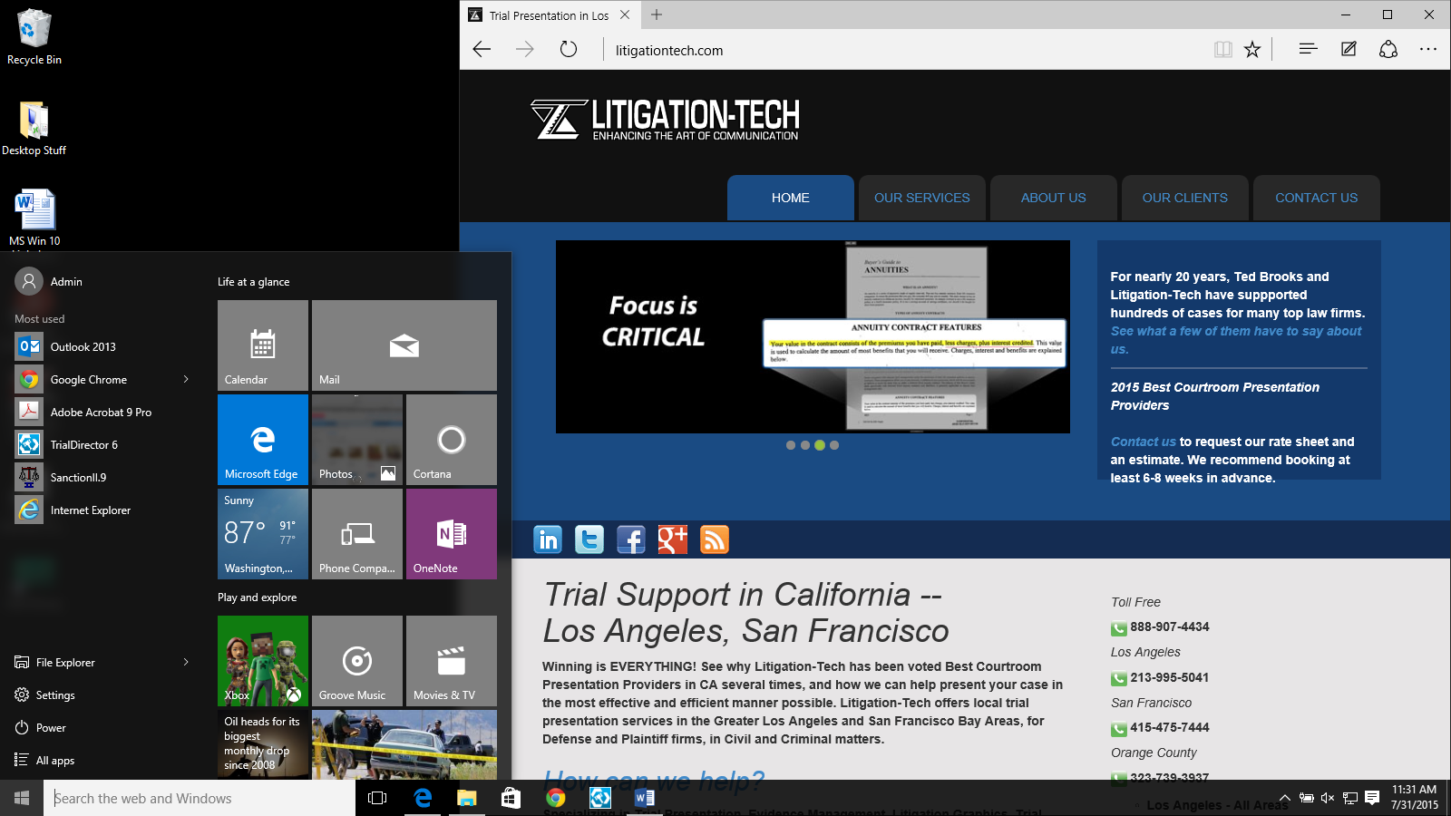 court technology and trial presentation  10 reasons you should not install windows 10  yet