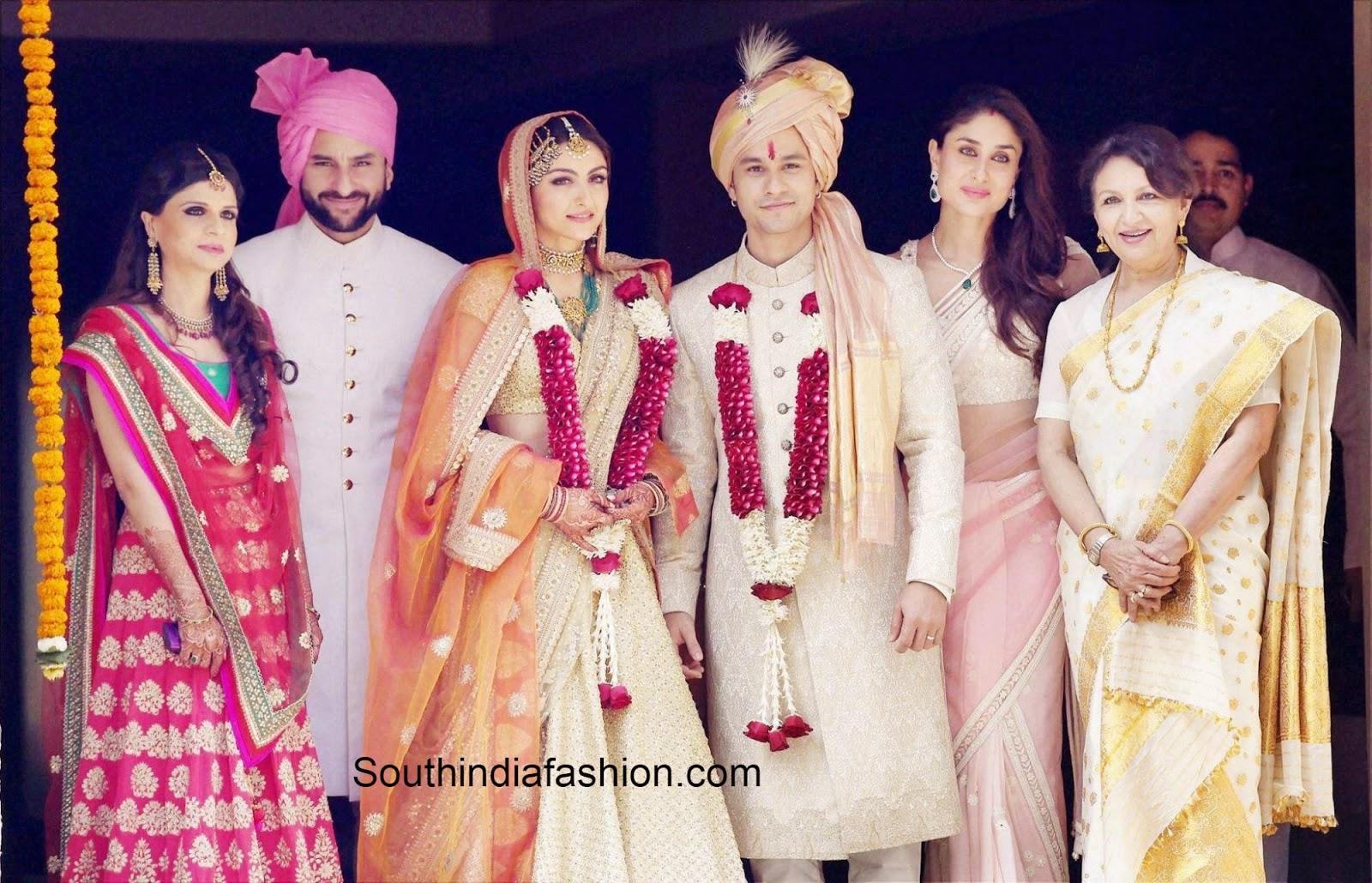 Soha Ali Khan  Kunal Khemu wedding photos