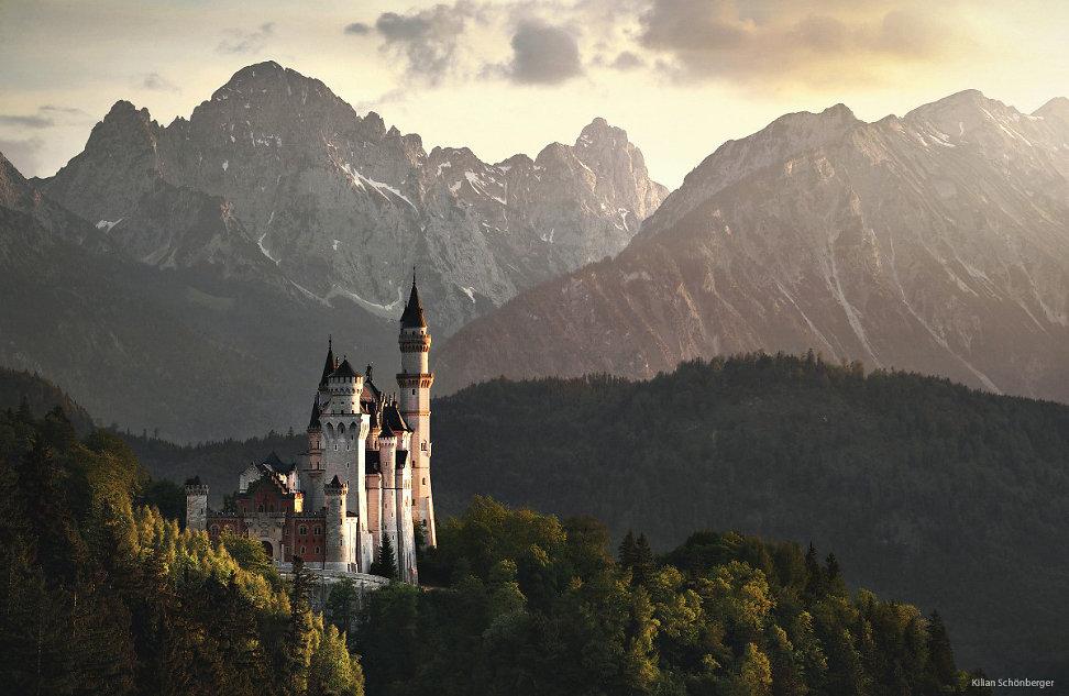 fairytale german castle