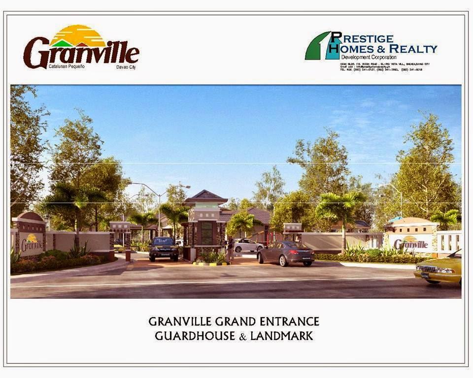 Granville Subdivisions Main Entrance Davao City
