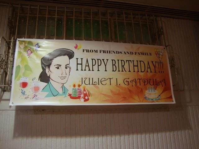 ERICJAZ FOODIES MY MOMS 70TH BIRTHDAY DINNER PARTY