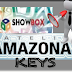 VIDEO TUTORIAL DO SHOWBOX SAT RECEBENDO KEYS PELO AMAZONAS 61°W - 24/07/2014