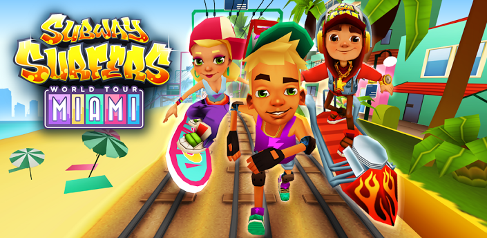 Subway Surfers World Tour MiamiUltimate modificado v1.11.0 .apk