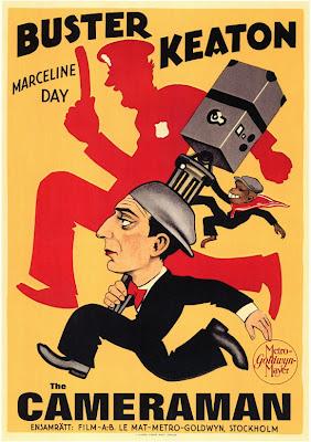 Keaton's The Cameraman poster