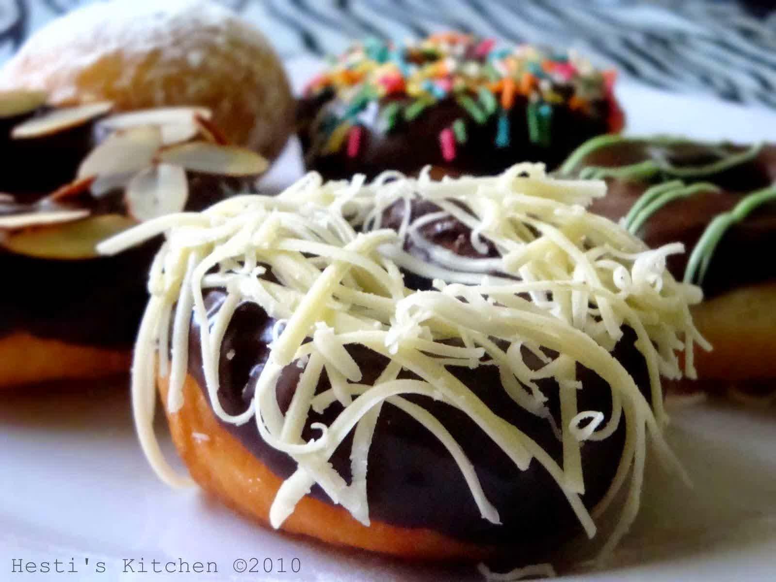 donuts, choco donuts, dunkin donuts, resep donat, donat, donat coklat, donat keju, donat aneka rasa
