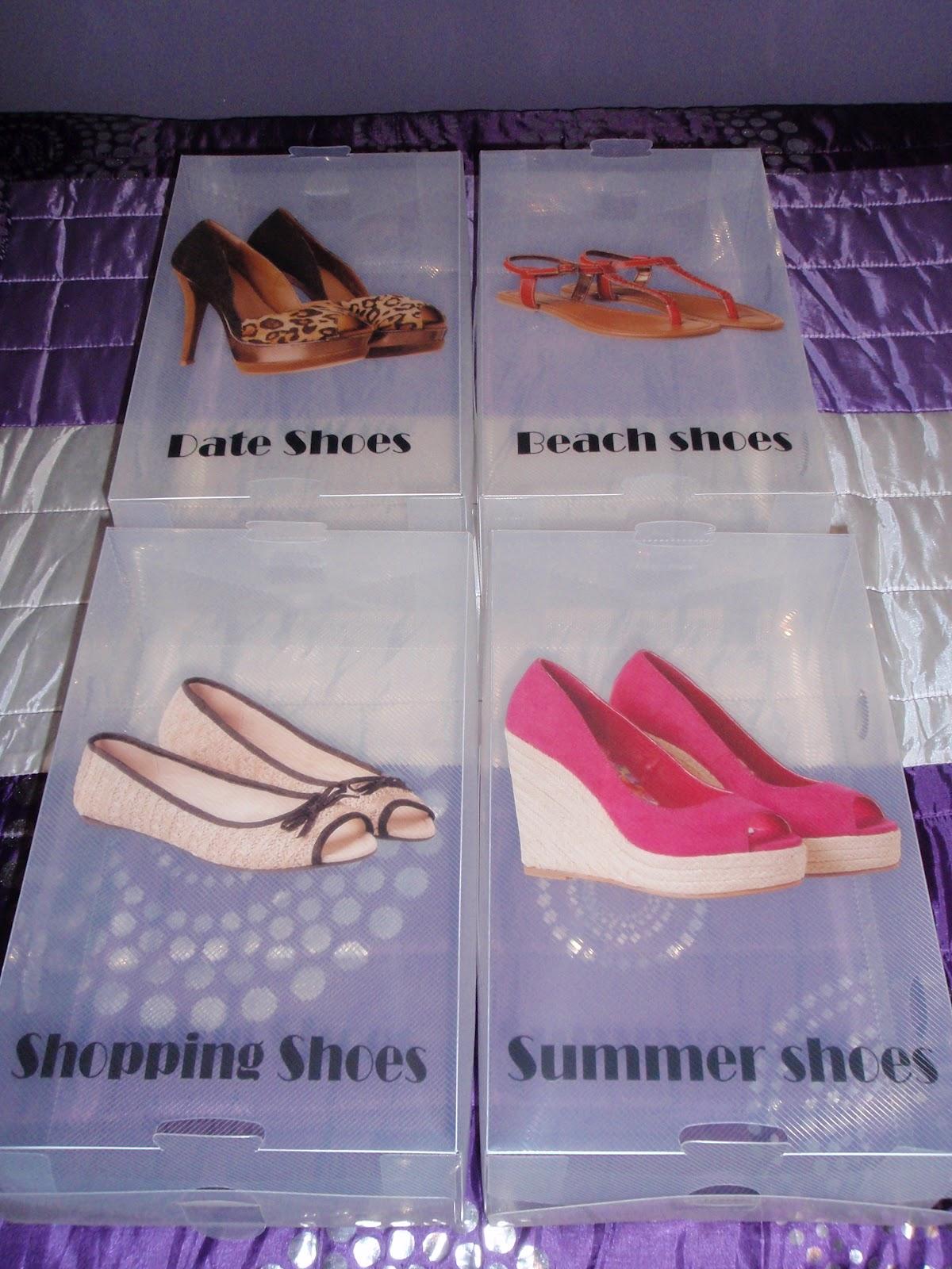 El Tocador De Vane Preciosas Cajas Para Tacones ~ Cajas Transparentes Para Zapatos
