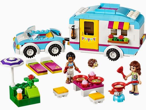 JUGUETES - LEGO Friends - 41034 La caravana de verano