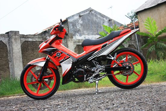yamaha jupiter mx airbrush modif