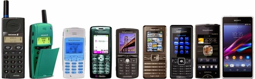 Mobile phone chronology