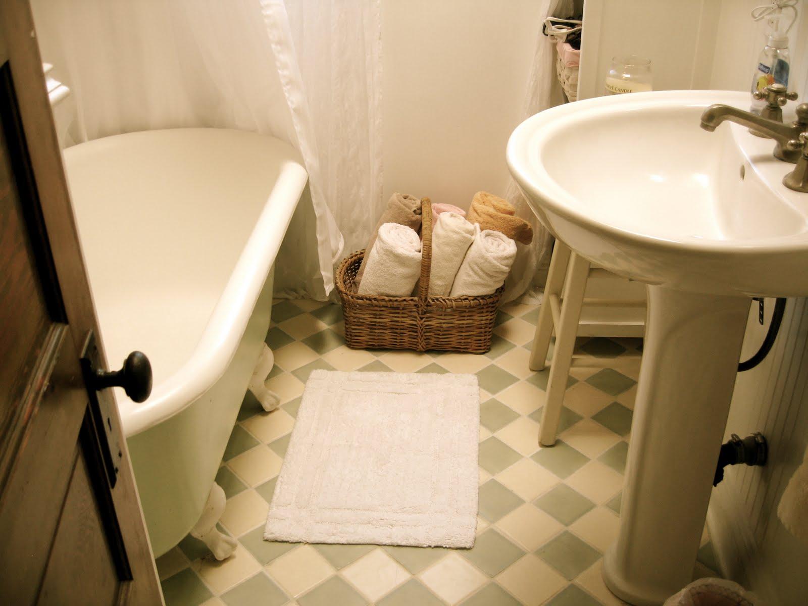 Antique bathroom sink