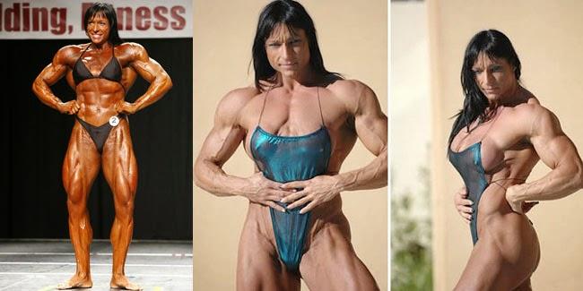 5 Wanita yang Bertubuh Sangat Kekar