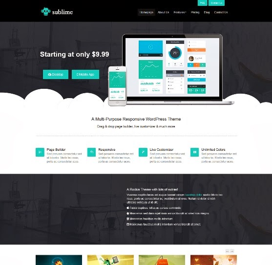 Sublime Responsive WordPress Theme