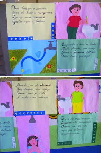 Modelos de cartaz para o dia da água
