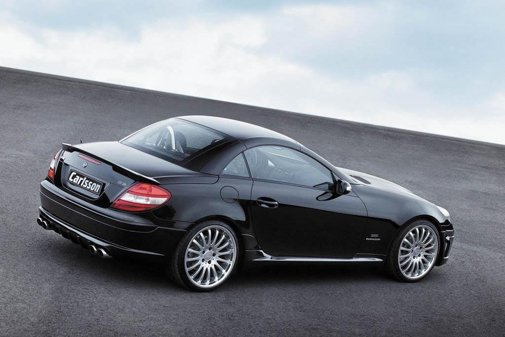 The World Sports Cars Mercedes Slk