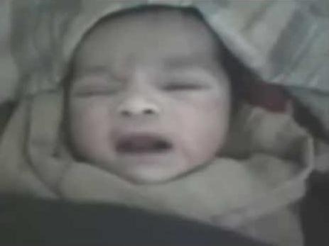 Subhanallah!.. Saksikan Video Bayi Baru Lahir Bertasbih Nama Allah