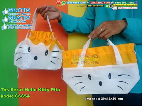 Tas Serut Hello Kitty Pita