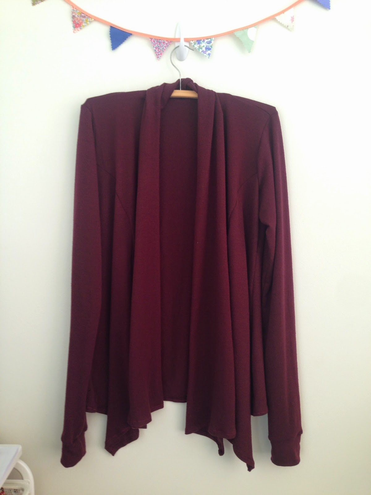 Swoon Scarf Neck Cardy