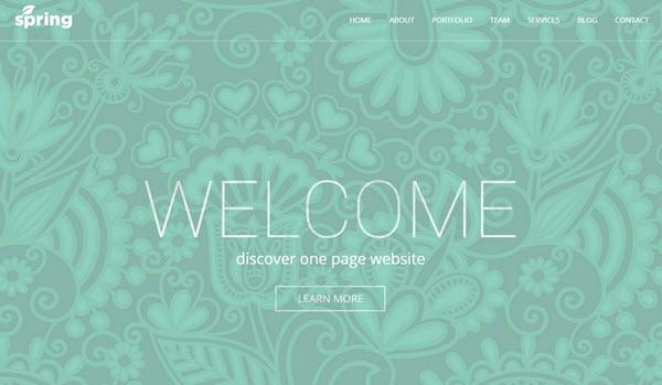 Spring Wordpress theme