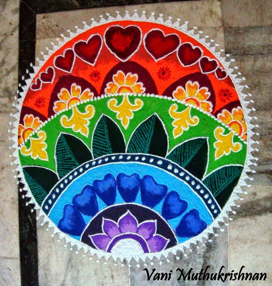 Kolam Designs 12