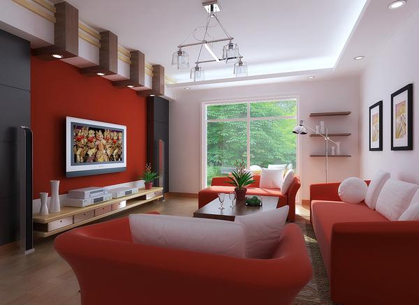 obter ideias de decoração cor para obter uma sala bonita