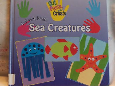 Creative family fun sea creatures for Sea life arts and crafts