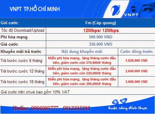 lắp mạng VNPT cho sinh viên tại Gò Vấp