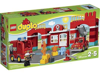 TOYS : JUGUETES - LEGO Duplo  10593 La Estación de Bomberos | Fire Station  Producto Oficial 2015 | Piezas: 105 | Edad: 2-5 años  Comprar en Amazon