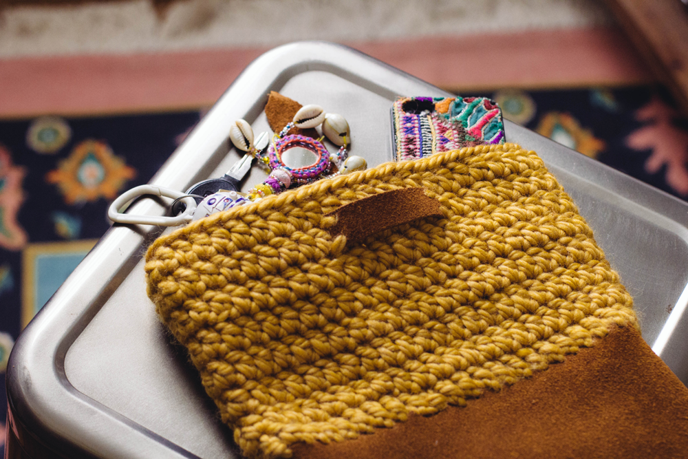 Always Rooney Learn To Crochet Yarn And Leather Bag Pattern