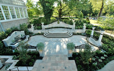 Garden Wedding Landscape Design