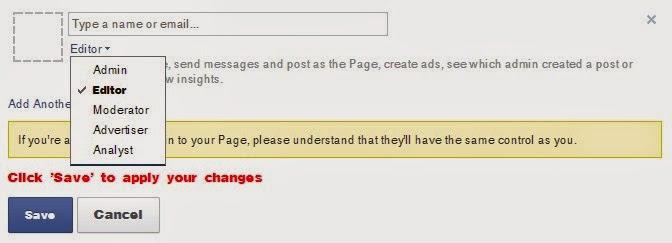 Cara Baru Menambah Admin Fans Page Facebook