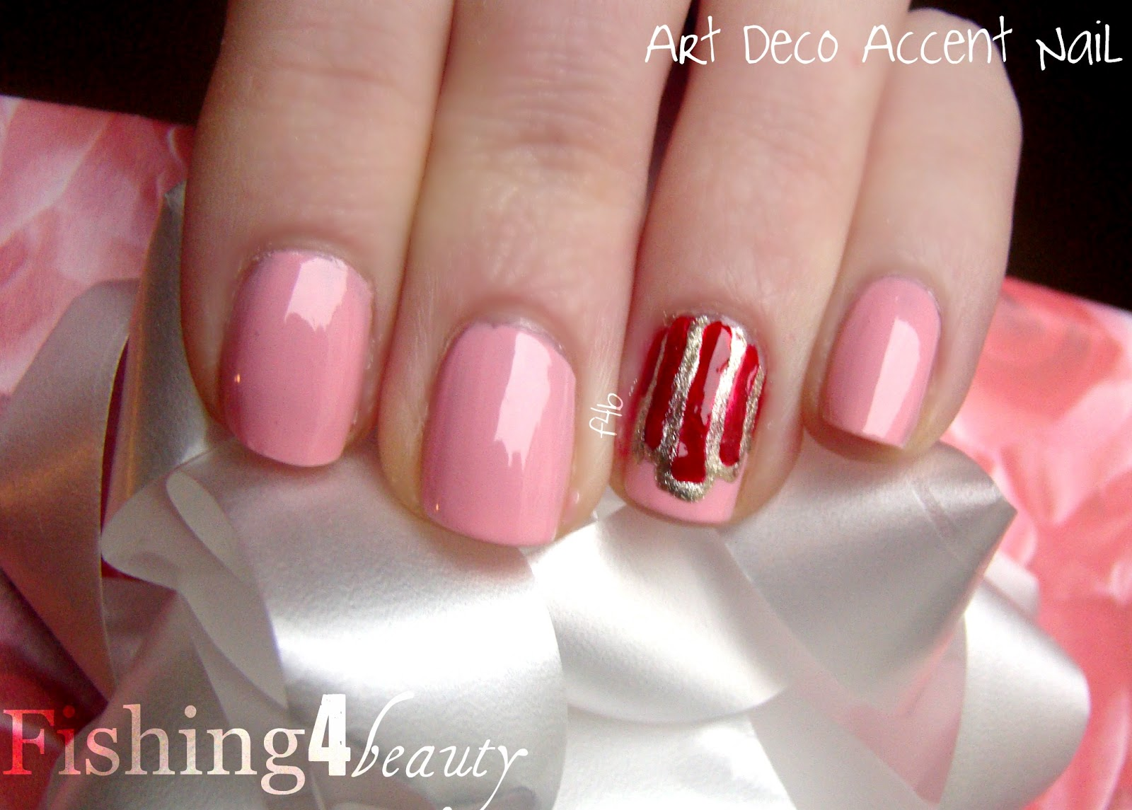 Fishing4Beauty: Valentine's Day Nails #4