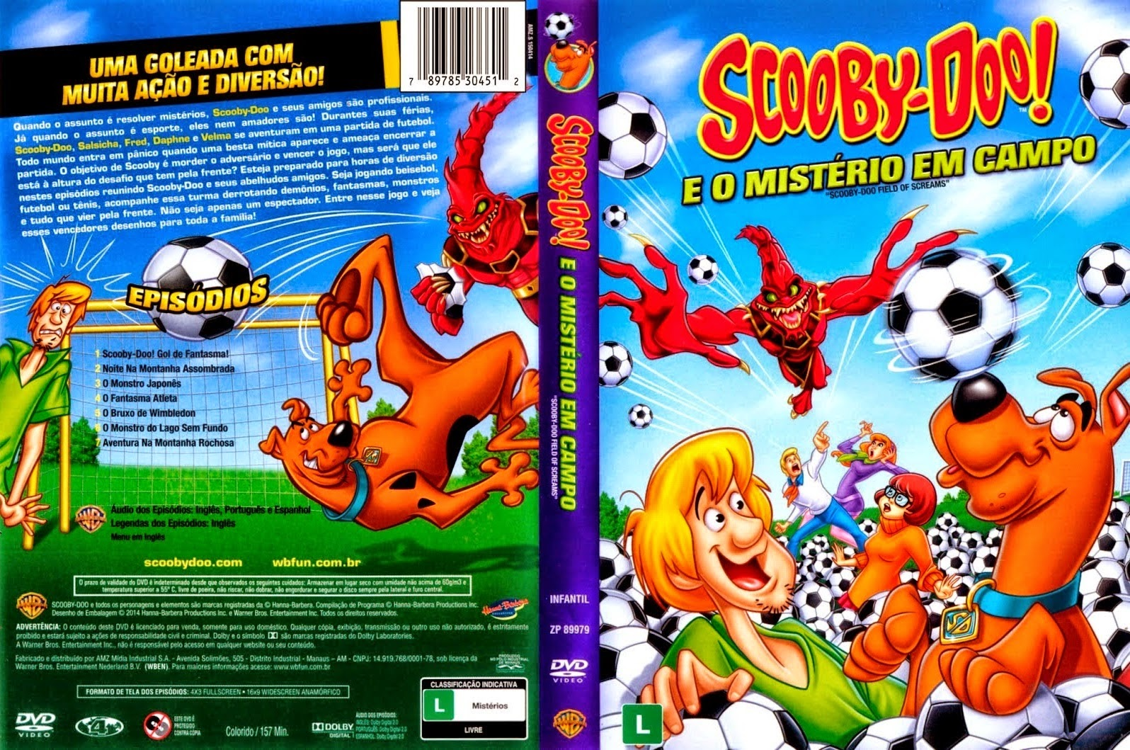 Scooby-Doo e o Mistério em Campo