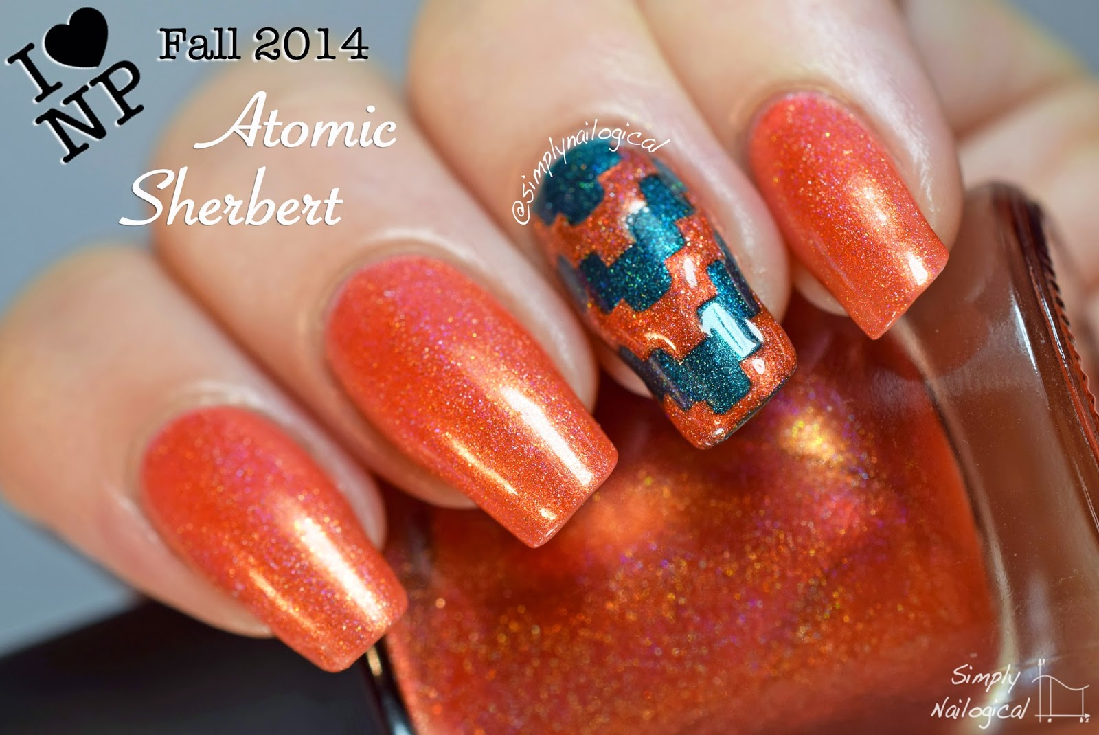 Atomic Sherbert - ILNP Fall 2014 collection swatch