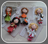 "Broches Mini""P"""