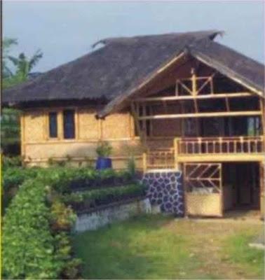 Desain Rumah Bambu Antik 04