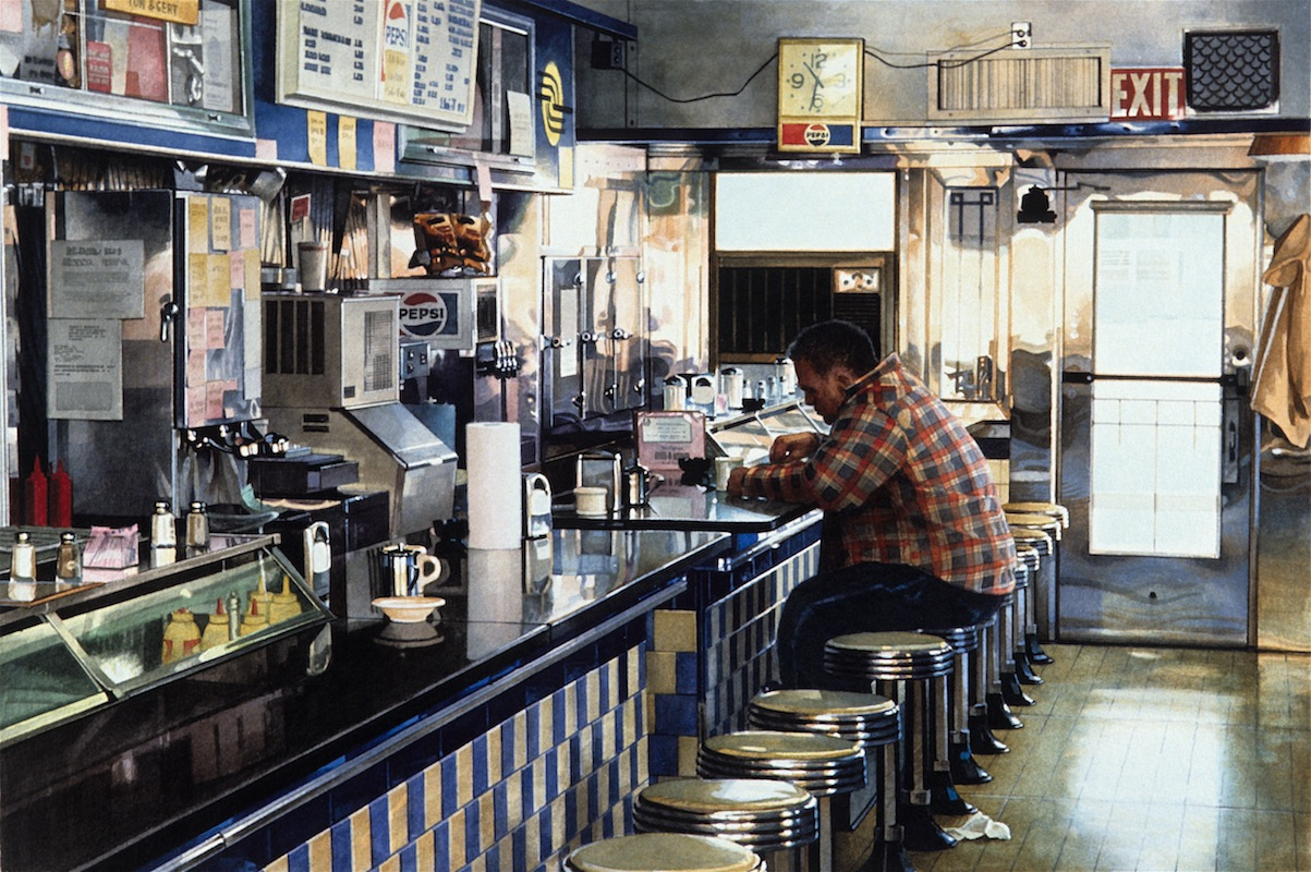 05-Tom-s-Diner-Ralph-Goings-Hyper-Realistic-Paintings-of-Everyday-Scenes-www-designstack-co