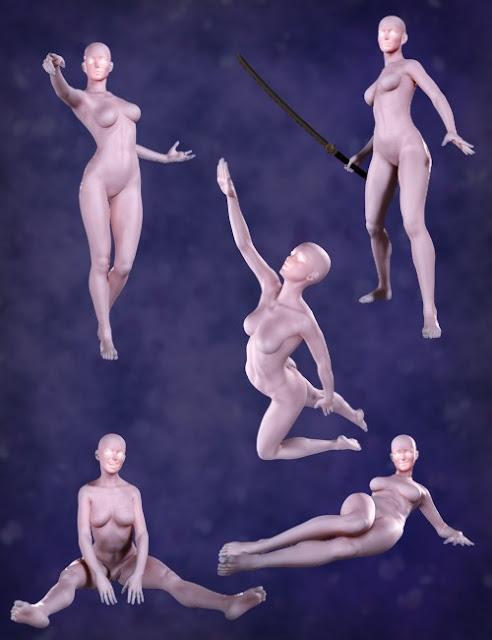 Demoiselles et Divas - Poses