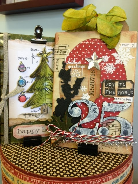 join us to make these two beautiful vintage cards featuring tim holtz products from ranger idea ology and sizzix
