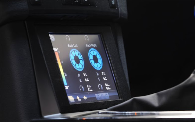 Brabus Technology Project Hybrid information screen