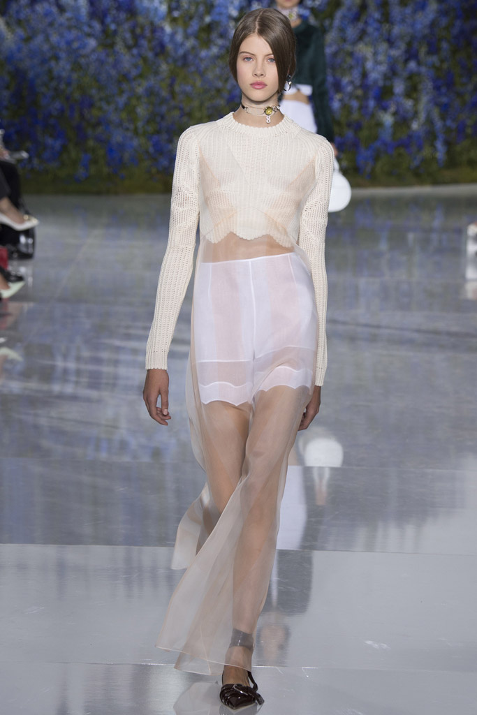 Dior Spring 2016 Ready-to-Wear collection.