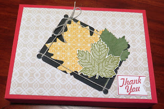 Thank You - Boxes of Cards Flight Centre zena kennedy independent stampin up demonstrator
