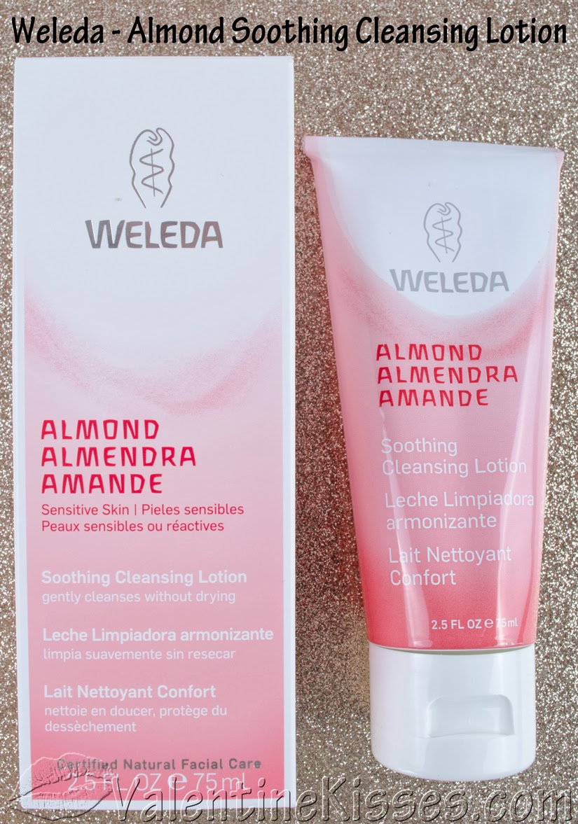 weleda almond face cream review
