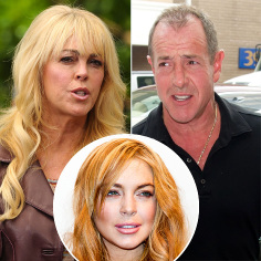 Dina and Michael Lohan to have family therapy sessions at the Betty Ford Center to aid Lindsay's recovery