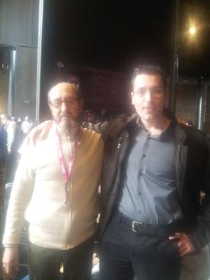 Santiago con Andrés Samudio