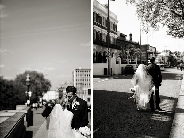 Bride and Groom, London Wedding, Thames, Putney.