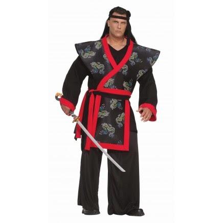 Traje de Samurai Kimono