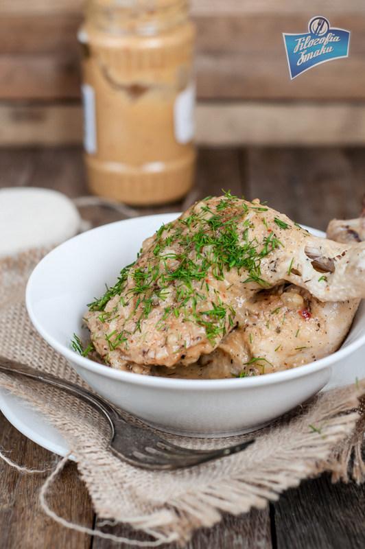 Przepis na kurczaka w sosie musztardowym