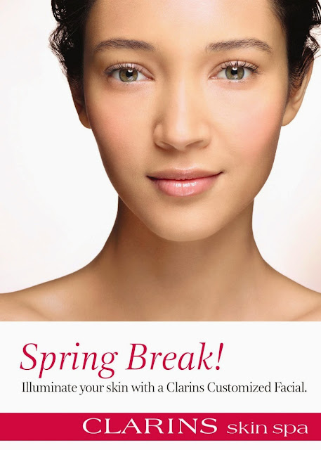 Clarins is offering $50 spa facial for the month of April at Nordstrom.