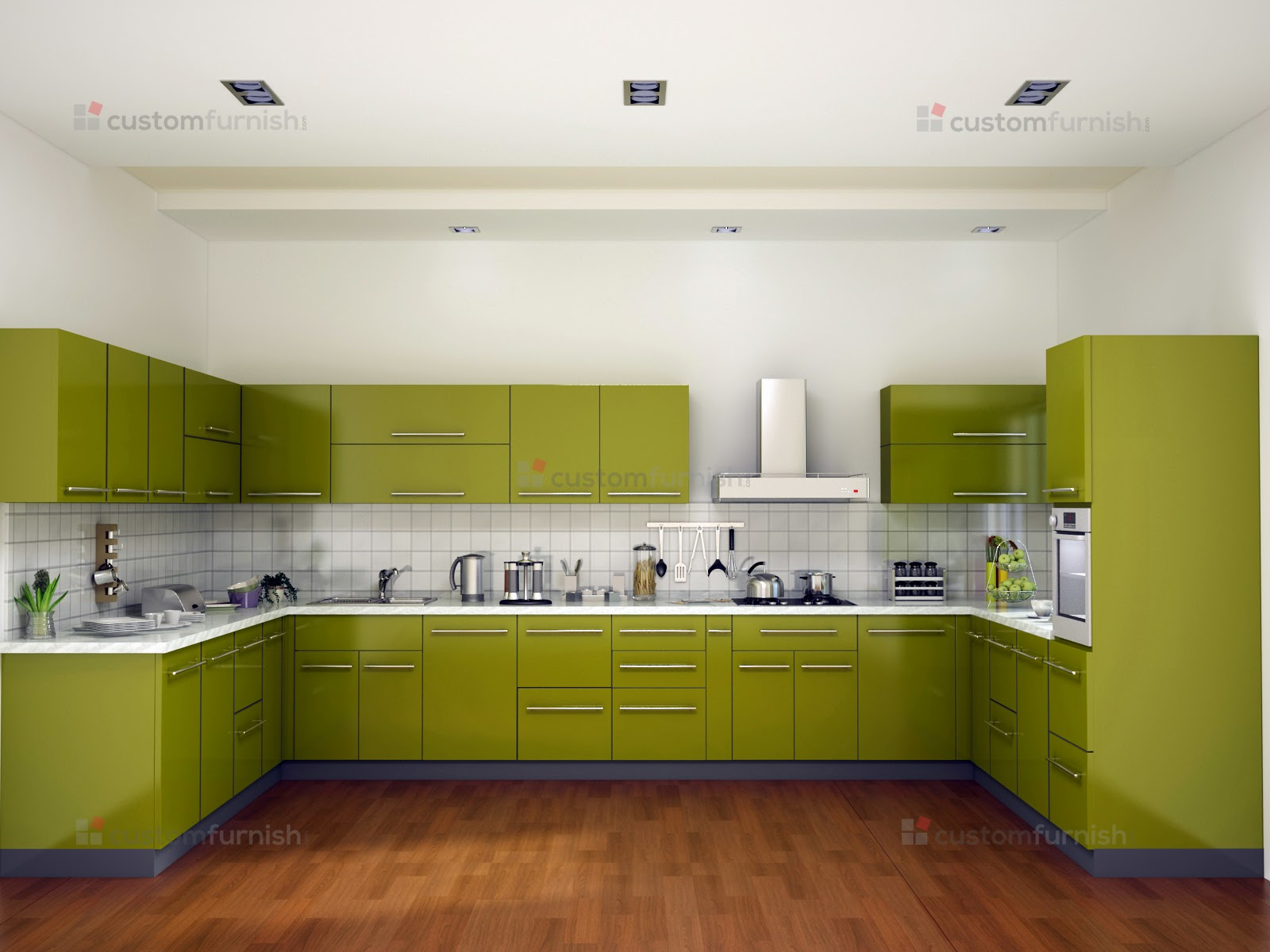 Stylish and modern kitchens interior decor blog for M kitchen hyderabad